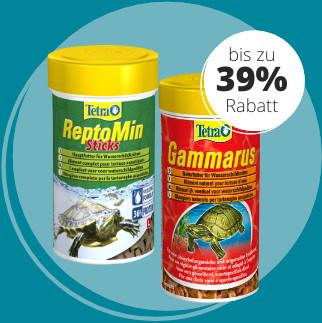 Bis zu 39% Rabatt auf Tetra Reptilienfutter!